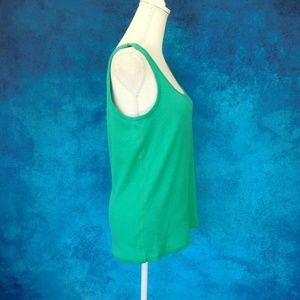 Faded Glory Tops - ❤️2/$25 NWOT Faded Glory Green Tank Top XXL